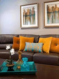 Metal Home Decorating Accents Living Room Brown And Blue Decorative Gold Finishes Wall Art