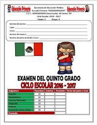 examen de 5 grado con respuestas examen del quinto grado para evaluar y elegir a la escolta escolar