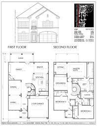 small two story house floor plans simple enjoyable javiwj