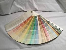 benjamin moore classic colors paint swatches samples fan deck book