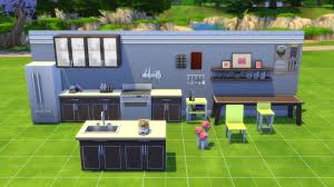 cool kitchens kitchen virtual outdoors the sims 4 kitchens with small kitchen