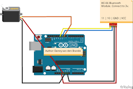 arduinoandroid bluetooth servo motor control android app download