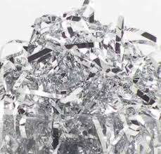 mylar shred silver 8201