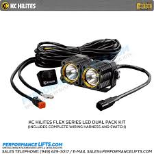 kc hilites flex series spread beam dual led system 272 ebay