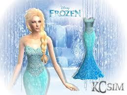 disney u0027s frozen elsa u0027s blue dress