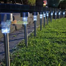 marvellous inspiration solar power garden lights simple ideas