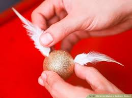 3 ways to make a golden snitch wikihow
