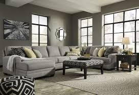 cresson pewter laf large chaise sectional sofas for family room