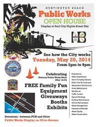 city of huntington beach ca news public works open house may