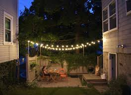 Garden Patio Lights Tiny House Living 7 Secrets From Tiny House Dweller Backyard