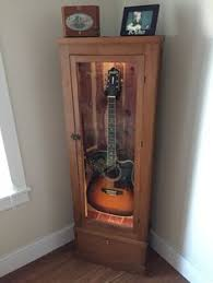How To Make A Gun Cabinet by Diy Acoustic Guitar Display Cabinet Diy Wood Projects
