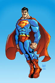 superman colors sketchheavy deviantart