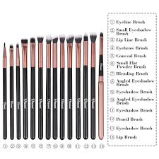 24pcs professional makeup brush set cosmetic foundation makeup
