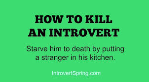 Introvert Meme - an introvert s miracle diet introvert spring