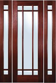 9 Lite Exterior Door Mahogany Exterior Doors Marginal 9 Lite Door With Sidelites