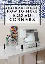 sewing tables by sara home decor sewing how to sew boxed corners the homes i