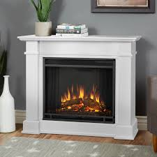 Electric Fireplace With Mantel Real Flame Devin Petite 36 Inch Electric Fireplace With Mantel