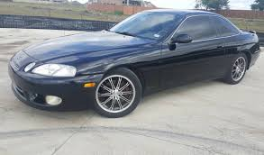 lexus sc300 v8 tx 1998 black lexus sc400 v8 well maintained receipts show it