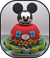 mickey mouse clubhouse birthday cake mickey mouse club house birthday cake grace tari flickr