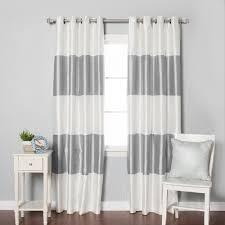 Polka Dot Curtains Nursery Curtain Gray And White Striped Blackoutsblackouts Grey Chevron