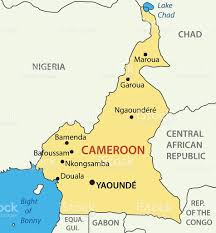 map of cameroon republic of cameroon vector map stock vector 633689496 istock