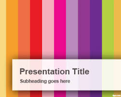 powerpoint design colors vertical colorful bars powerpoint template is a free powerpoint