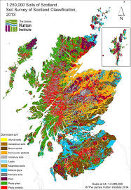 soil map 1 250 000 soils of scotland national soil maps scotland uk