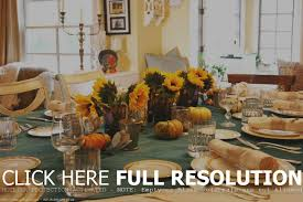 how to decorate a dining room table for thanksgiving home table