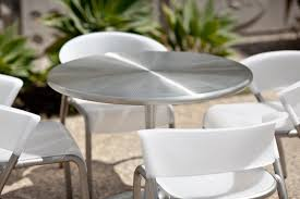 Steel Bistro Chairs Citrus Table Outdoor Forms Surfaces