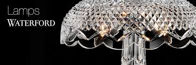 Lamp Shades For Chandeliers Waterford Crystal Lamps Chandeliers And Lighting Fixtures