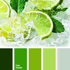 what color matches green color palette 2454 greenery grasses and smooth