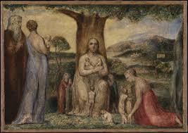 christ blessing the little children u0027 william blake 1799 tate