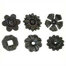 cast steel rosettes metal ornaments cs 09 wholesaler manufacturer