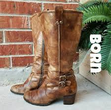 born womens boots size 12 78 born shoes 1 day sale born brown distressed leather