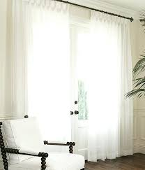 White Faux Silk Curtains White Silk Curtains White Sheer With Optional White Taffeta Top