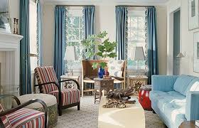 Blue Curtain Designs Living Room - Curtain sets living room