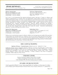 resume exles for government federal resume sle