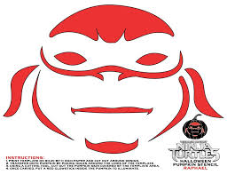 teenage mutant ninja turtles pumpkin stencils halloween lady