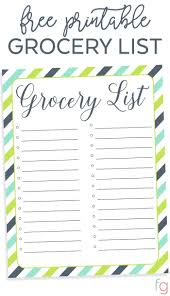 best 25 grocery list templates ideas on pinterest diet grocery