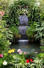 Backyard Water Falls by Best 10 Waterfall Design Ideas On Pinterest Garden Waterfall