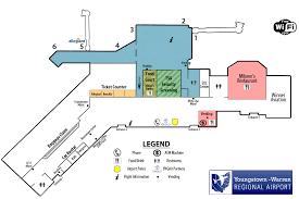 Detroit Airport Terminal Map Airport Gate Information