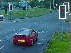 avoiding red light camera tickets bbc news uk england devon car plates swapped to avoid fine