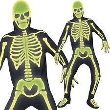 mens ladies x ray skeleton costume halloween skeleton fancy
