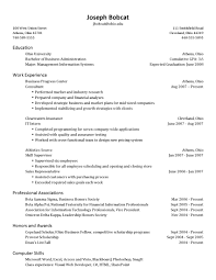 date of availability resume resume for your job application