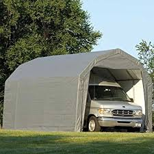 Barn Style Garage Amazon Com Shelterlogic 12ft W Homestead Barn Style Garage