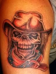 cowboy designs cowboy hat tattoos cowboy skull tattoos