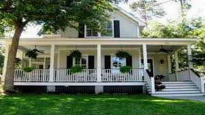 country style house with wrap around porch beautiful house with wrap around porch home bacuku
