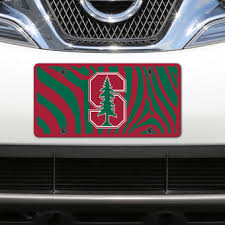 stanford alumni license plate frame stanford car accessories auto accessories