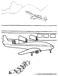 airport coloring page create a printout or activity