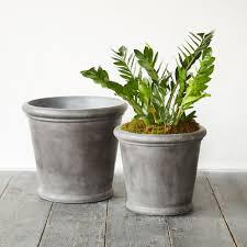how to choose outdoor planter u2014 the homy design
